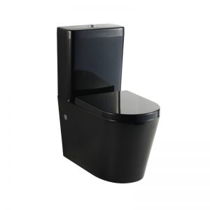 KDKB-008 Black Toilet Suite