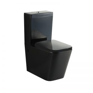 KDKB-003 Black Toilet Suite