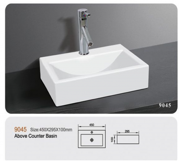 Counter Ceramic Basin