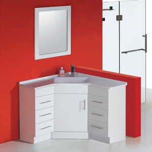 900x900mm Corner Vanity