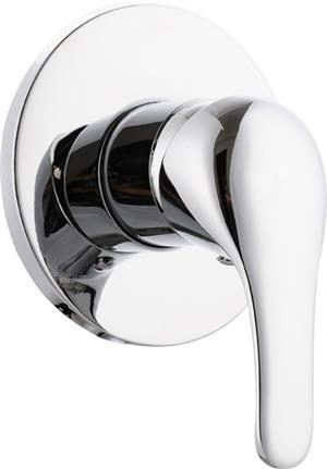 Solid Handle Bath/Shower Mixer