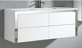 1200mm Niko Wall Hung Vanity