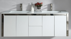 1500mm Niko Wall Hung Vanity