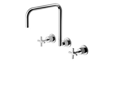 Radii Wall Sink Set 300mm Squareline