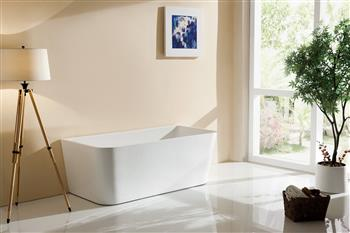 Free Standing Bath (Back To Wall)