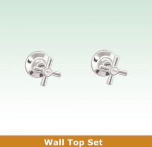 Jas Wall Top Tap Set