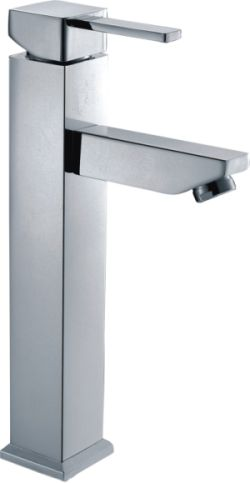 Square Pin Handle Tall Basin Mixer