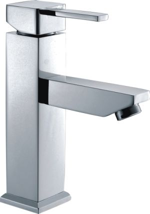 Square Pin Handle Basin Mixer